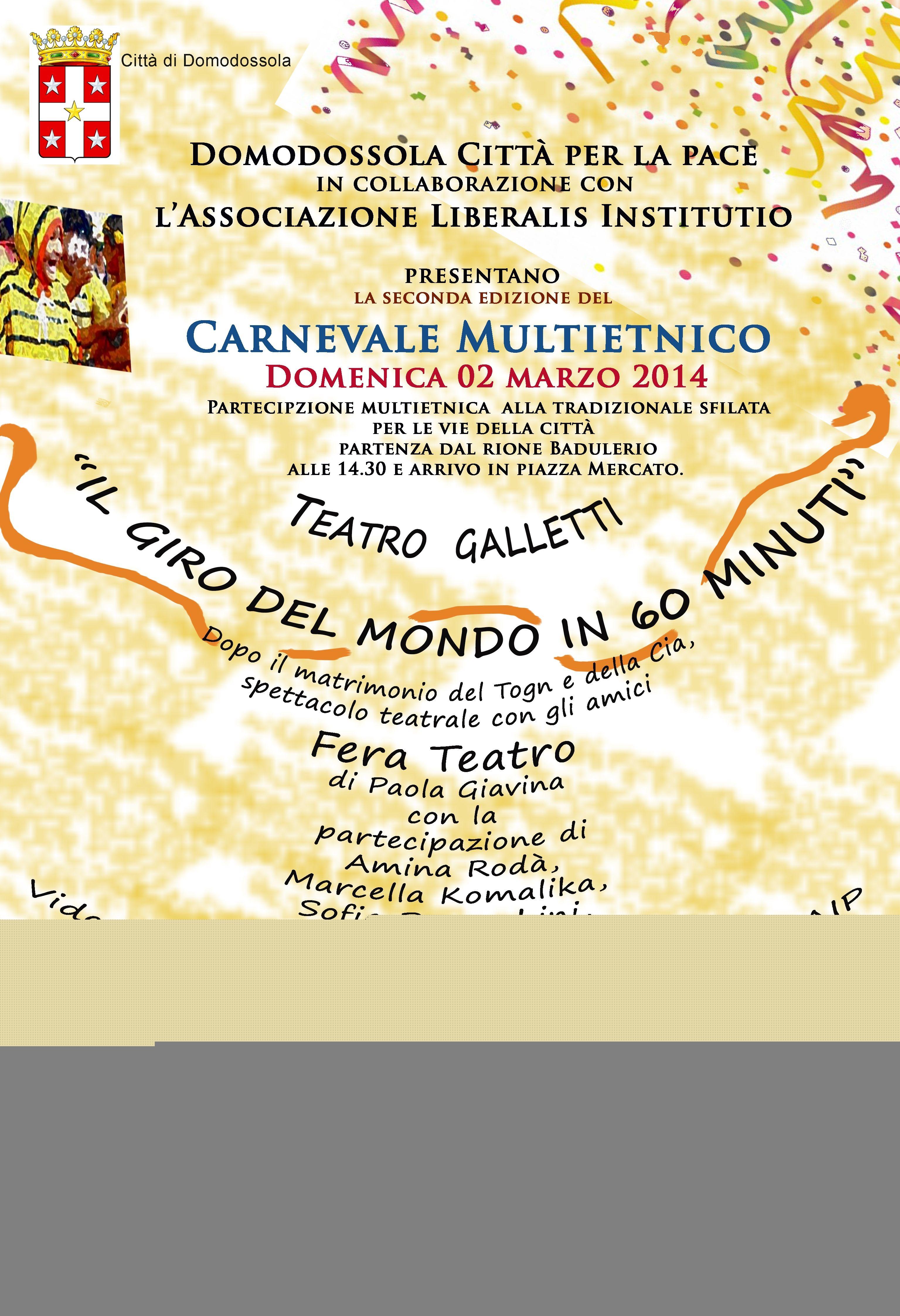 Carnevale Multietnico 2014